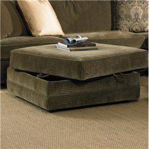 Exceptionnel Transitional Storage Cocktail Ottoman