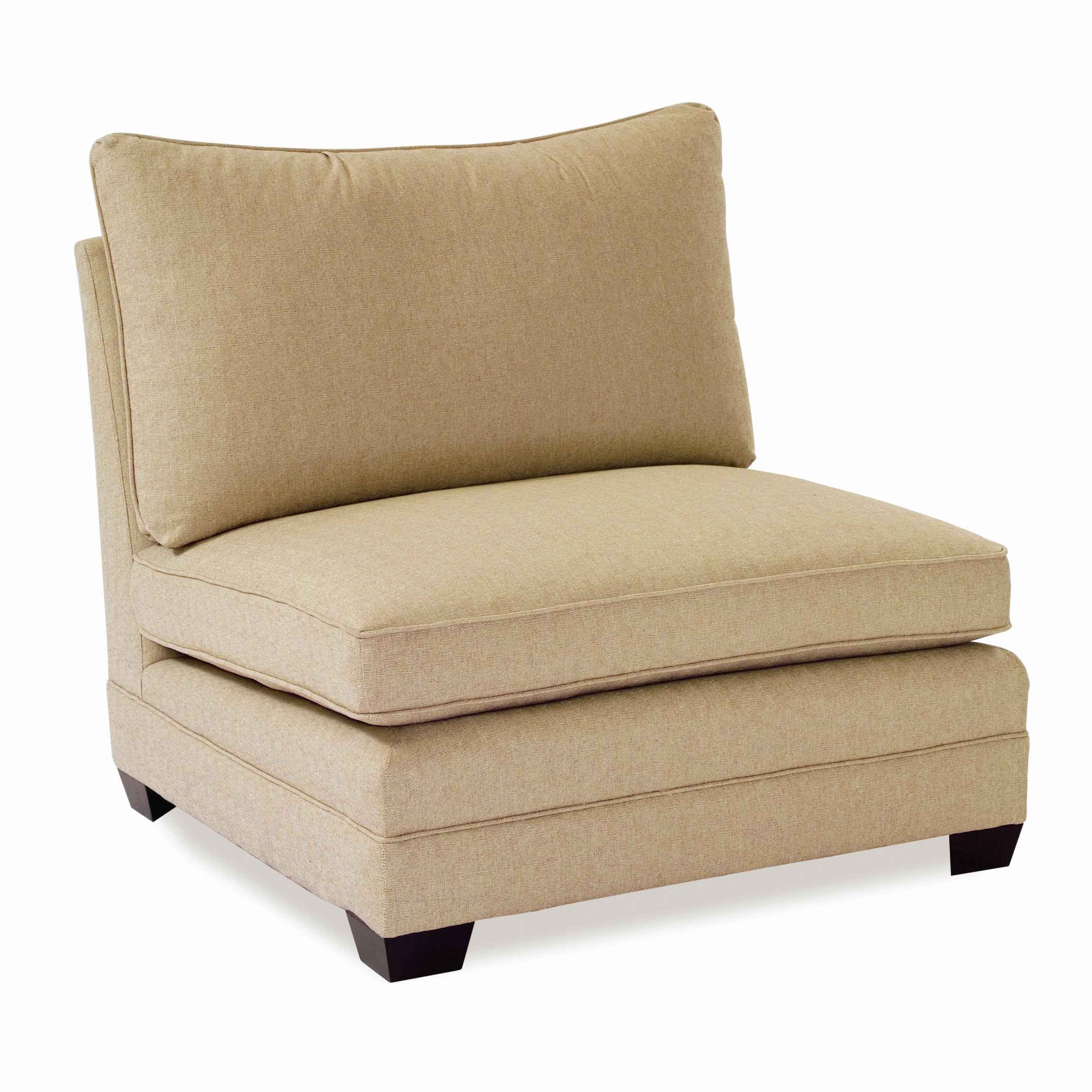 armless chairs for living room. Large Armless Chair by Sam Moore  Wolf and Gardiner Furniture