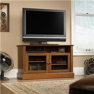 Sauder Carson Forge Panel TV Stand