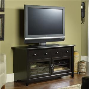 Sauder Edge Water Panel TV Stand