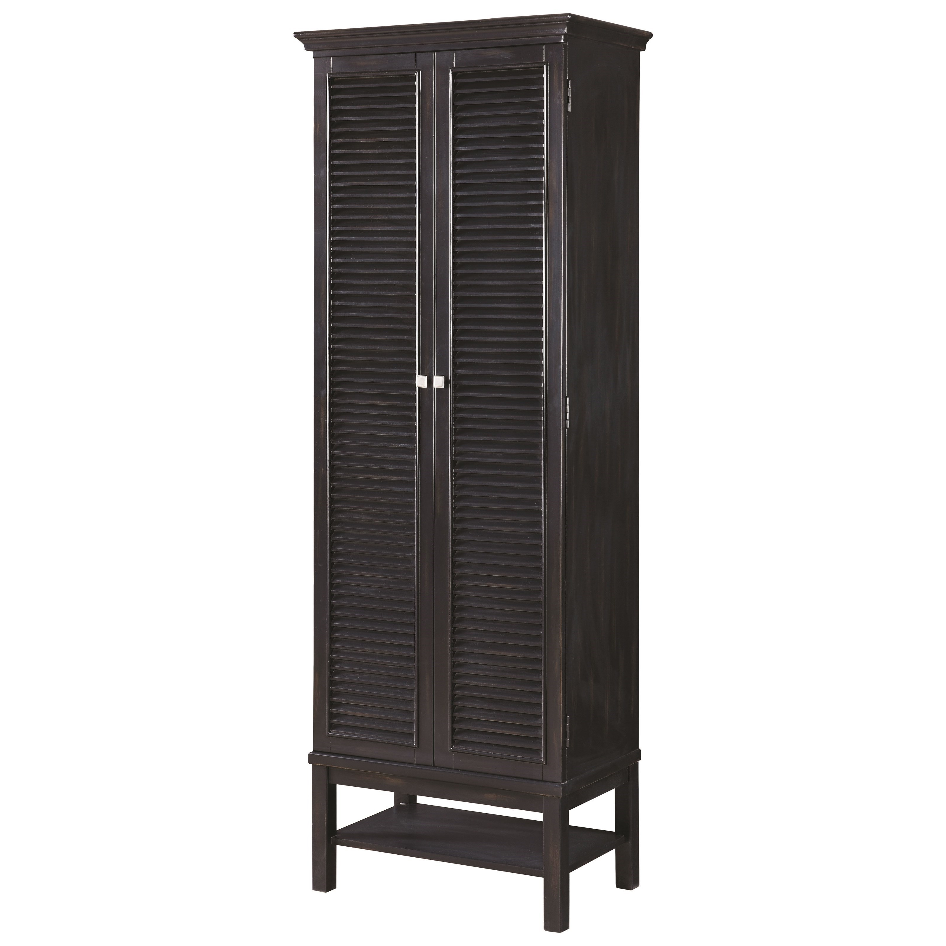 Tall Wine Cabinet With Shutter Doors By Scott Living Wolf And