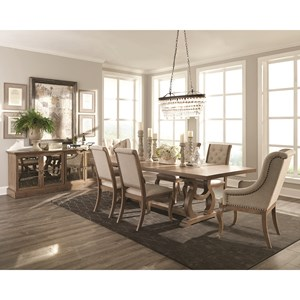 formal dining room settings