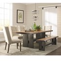 Dining Table Set with Bench