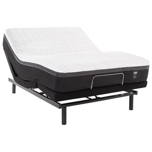 Queen Essentials Hybrid Mattress and Ease Adjustable Base