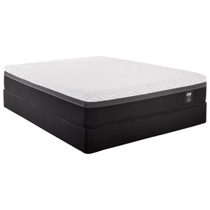 Queen Essentials Hybrid Mattress and 5
