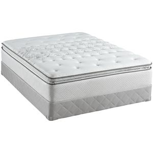 Sealy Posturepedic Classic Grove City Twin Plush Euro Pillow Top Mattress Set
