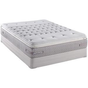 Sealy Posturepedic Gel 2012 Full Plush Euro Pillow Top Mattress