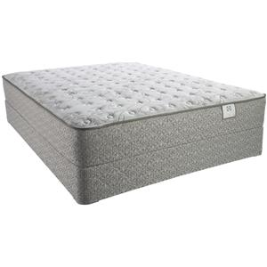 Sealy Tropical Waters Twin Firm Mattress Set
