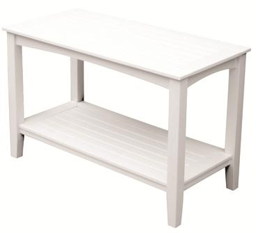 outdoor console table w lower shelf