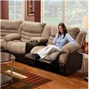 Seminole Furniture 6250  Double Reclining Console Sofa with Built-In Cup-Holders for Family Room Comfort