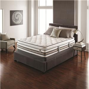 Serta iSeries Merit Queen Super Pillow Top Mattress Set