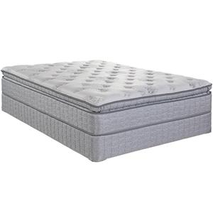 Serta Jouvence Queen Super Pillow Top Plush Mattress