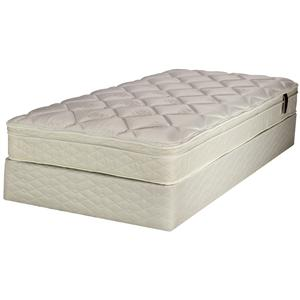 Serta Smart Choice Greenway Queen Euro Top Mattress Set