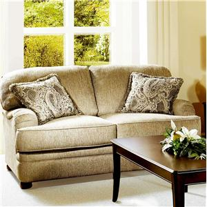 Serta Upholstery by Hughes Furniture 5500  Loveseat