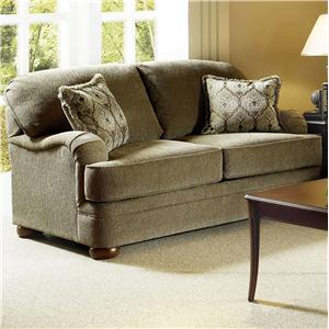 Serta Upholstery by Hughes Furniture 5500  Loveseat