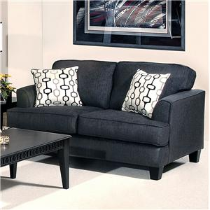 Serta Upholstery by Hughes 5600 Transitional Loveseat