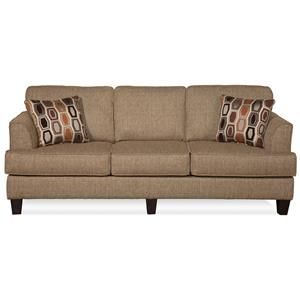 Serta Upholstery by Hughes 5600 Contemporary Sofa