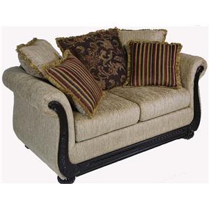Serta Upholstery by Hughes 8500 Hughes Love Seat
