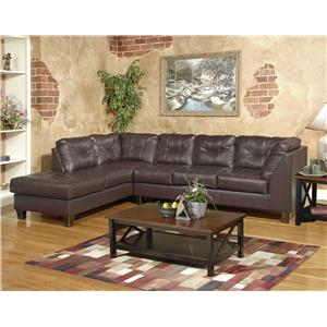 Serta Upholstery by Hughes 2500 Sectional