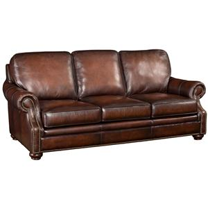 Hooker Furniture SS185 Leather Sofa