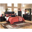 Signature Design by Ashley Shay 4 Pc Queen Bedroom - Item Number: ASHB271_AKIT
