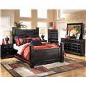 Signature Design by Ashley Shay 4pc queen bedroom - Item Number: ASHB271_CKIT