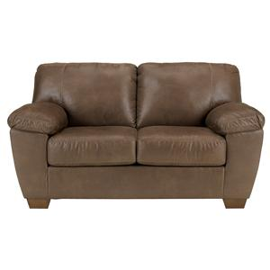 Signature Design by Ashley Furniture Amazon - Walnut Loveseat