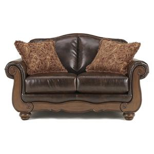 Signature Design by Ashley Furniture Barcelona - Antique Loveseat