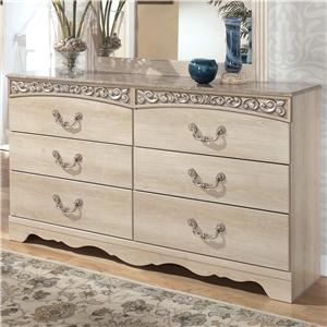 Signature Design by Ashley Catalina B196 Dresser