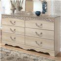 Signature Design by Ashley Catalina B196 Dresser - Item Number: B196-31