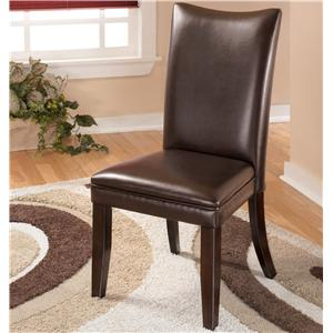 Signature Design by Ashley Charrell Brown Side Chair