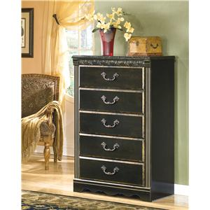 Signature Design by Ashley Coal Creek Chest
