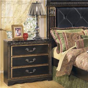 Signature Design by Ashley Coal Creek 3 Drawer Night Stand