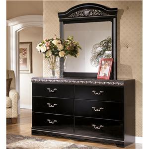Signature Design by Ashley Constellations Dresser & Mirror Combo