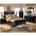 Signature Design by Ashley Constellations 5 Drawer Vertical Chest - Shown with Captain\'s Bed