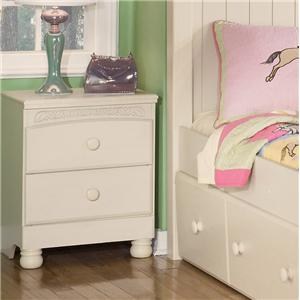 Signature Design by Ashley Furniture Cottage Retreat 2 Drawer Nightstand