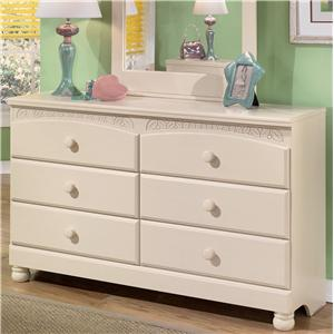 Signature Design by Ashley Furniture Cottage Retreat 6 Drawer Dresser