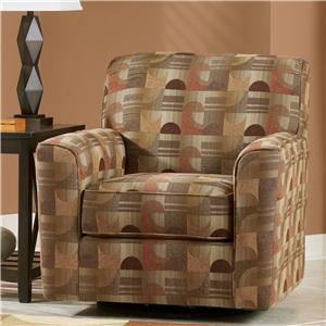 Signature Design by Ashley Del Rio DuraBlend - Sedona Swivel Chair
