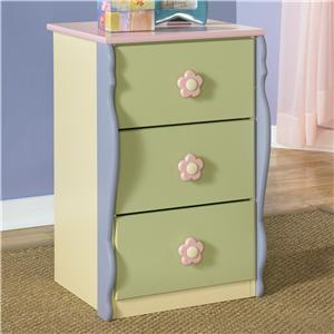 Signature Design by Ashley Doll House Loft Drawer Chest