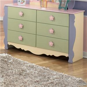 Signature Design by Ashley Doll House Youth Dresser