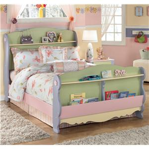 Signature Design by Ashley Doll House Full Sleigh Bed