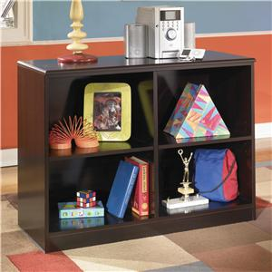 Signature Design by Ashley Furniture Embrace Loft Open Bookcase