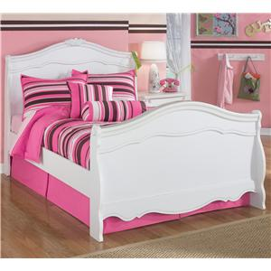 Signature Design by Ashley Exquisite Full Sleigh Bed