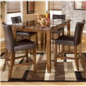 Signature Design by Ashley Lacey 5-Piece Table & Chairs Set - Item Number: D328-32+4x124