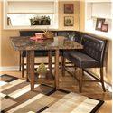 Signature Design by Ashley Furniture Lacey 4-Piece Pub Set - Item Number: D328-33+2x323+320