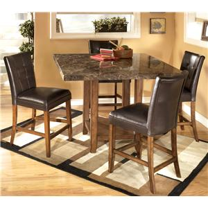 Signature Design by Ashley Lacey 5-Piece Pub Set