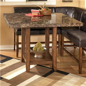 Signature Design by Ashley Furniture Lacey Square Counter Height Table