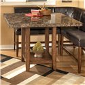 Signature Design by Ashley Lacey Square Counter Height Table - Item Number: D328-33