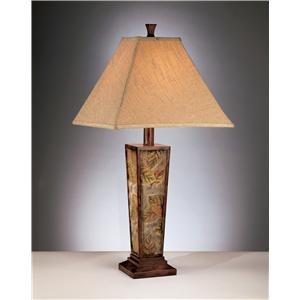 Signature Design by Ashley Lamps - Vintage Casual Set of 2 Eloise Table Lamps