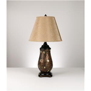 Signature Design by Ashley Lamps - Traditional Classics Set of 2 Glass Table Lamps